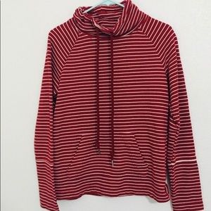 Stripped red and white Sweatshirt